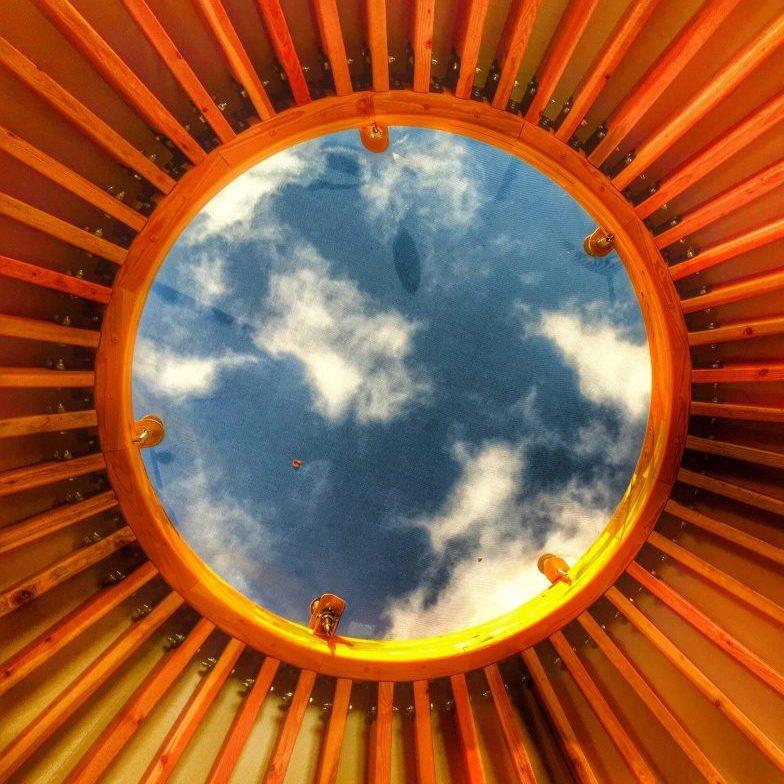 yurt dome Maine