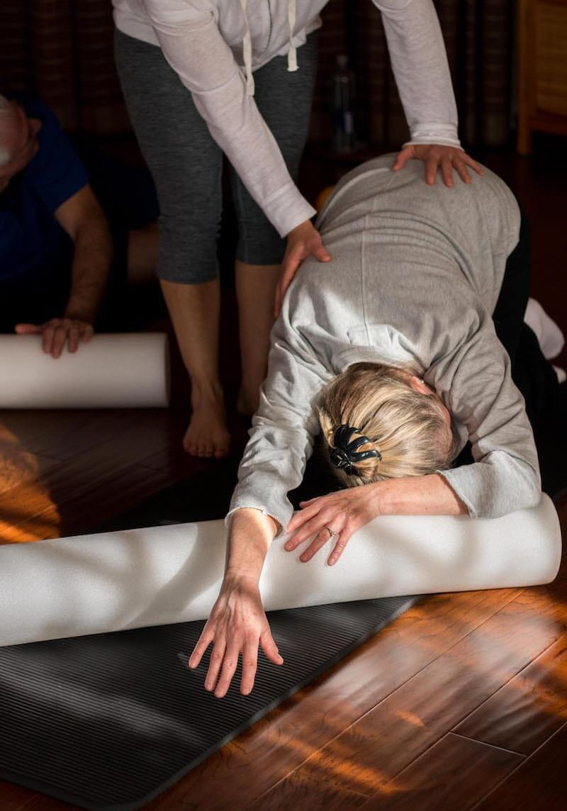 StillPoint Myofascial Release Classes Group Stretch Thearpy